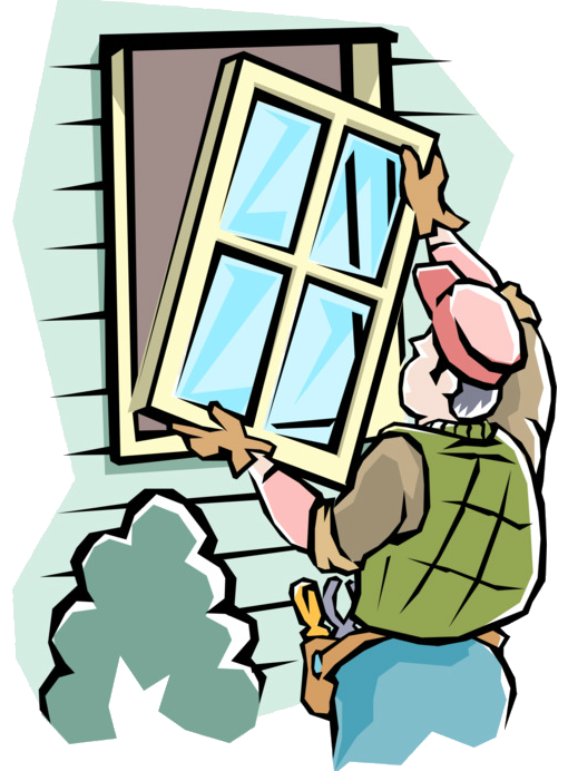 kisspng replacement window clip art illustration openclipa handyman installs new windows vector image 5c0c2a906b6884